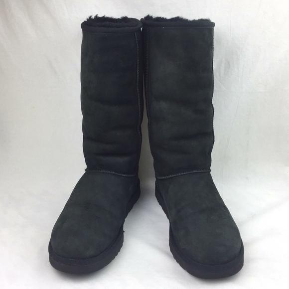 UGG Classic Tall Sheepskin Boots sz 10